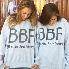 Women, Fashion, Pullovers, bestfriendprintwomenshoodie