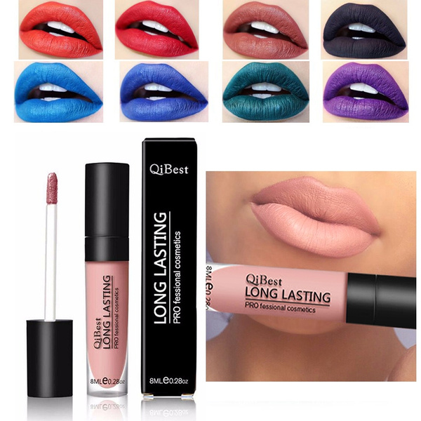 Picture of 12 Color Matte Waterproof Moisturizing Long Lasting Lip Gloss