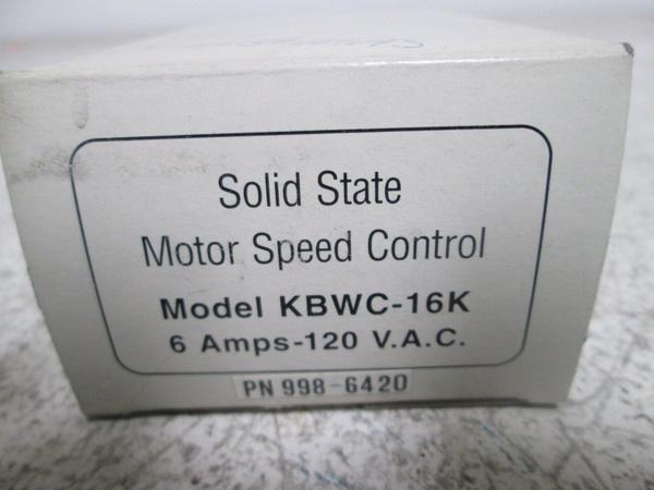 Wall Mount AC Fan Motor Control KBWC-16K H9001