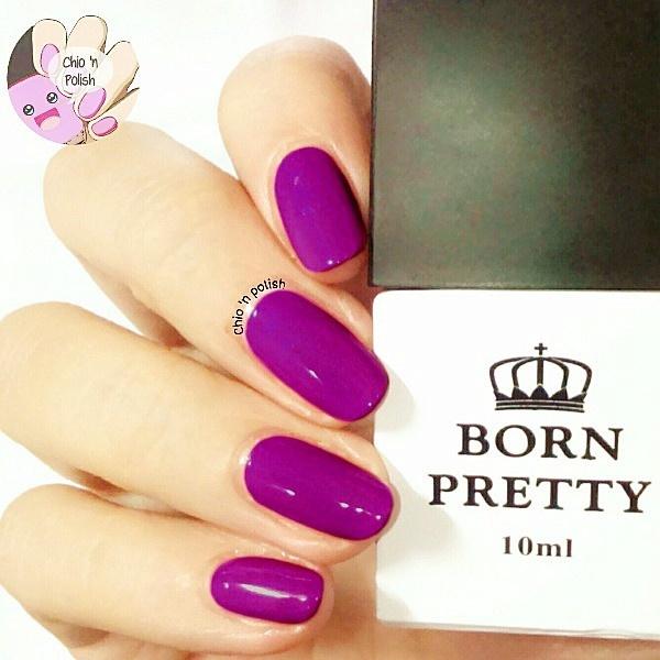 Wish   10ml Born Pretty One-step UV Gel Nail Polish Dark Purple Soak ...