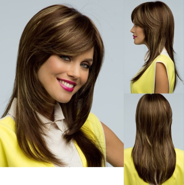 Long Layers Hair With Side Bangs 65