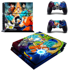 Playstation, Video Games, skinstickerforps4dragonball, Stickers