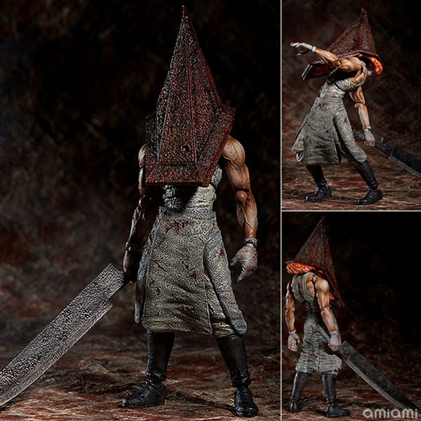 Silent Hill Pyramid Head Pvc Action Figure Collectible Model Toy