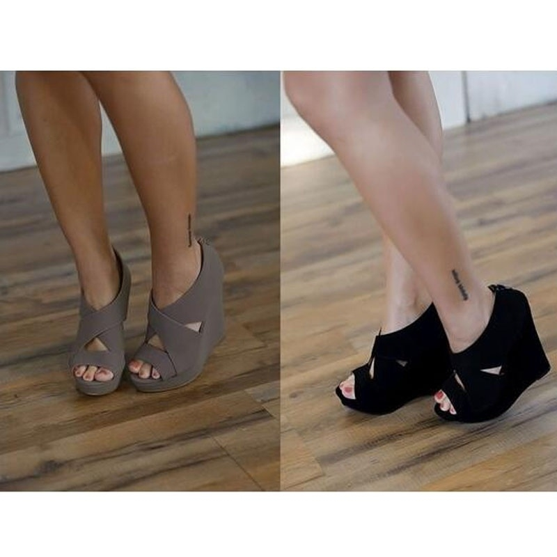 Picture of Women Summer Shoes Wedges High Heel Sandals