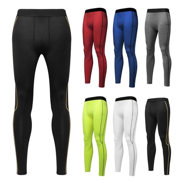 8ba93d875b33b4 Sexy Men's Black Faux Leather Pants,Men's Long Trousers,Men's Novelty  Skinny Muscle Tights Leggings Men Slim Fit Tight Pants | Wish