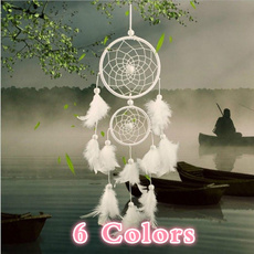 featherhang, Gifts, Dreamcatcher, featherdecoration