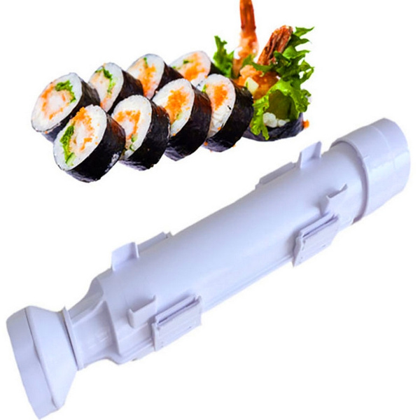Picture of Sushi Roller Kit Sushi Mold Maker Bazooka Sushi Rolls Making Tool Rice Mould Roller Cooking Tools