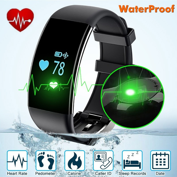 Picture of Original Stock Bluetooth Smartwatch Smart Watch D21 Wristband Bracelet Band Heart Rate Smartband Activity Tracker Fitness For Ios Android Colorblack White.pink.purple
