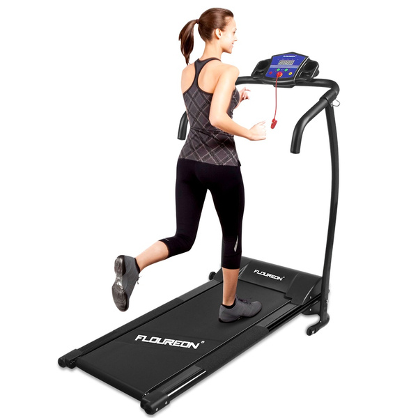 Finether Folding Electric Motorized Treadmill Running Jogging Walking  Machine Portable Gym Equipment for Fitness and Exercise
