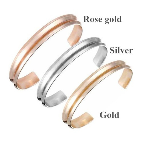 Fashion Cuff Bangles for Women Jewelry Hair Tie Holder