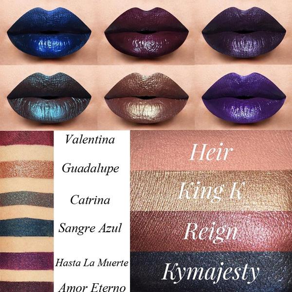 Picture of Matte Liquid Lipstick Lip Lustre Metal Lip Shine Waterproof Creamy