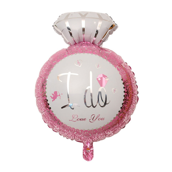 Ring Foil Balloon Event Supplies Party Decoration I DO Balloons