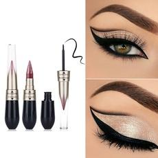 Picture of Eyeshadow Eyeliner Combination Easy To Wear Makeup Double-end Waterproof Liquid