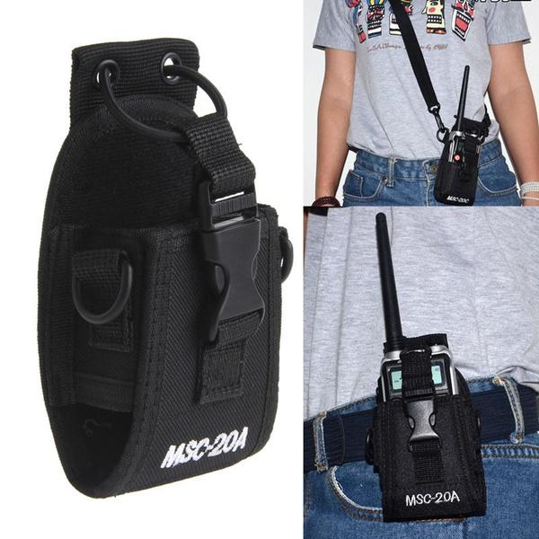 MSC-20A Multi-function Radio Case Holder for BAOFENG uv-5r UV82 UV8D UV6 GT-3