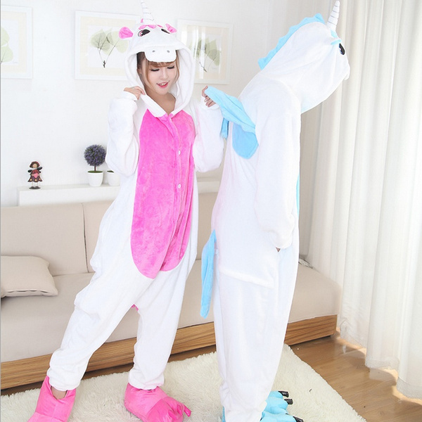 Wish Unicorn Pajamas Winter Kawaii Anime Hoodie Pyjamas Cosplay