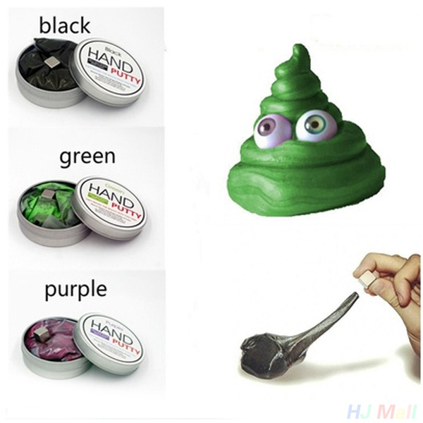 Hand Putty Slime Play Dough Magnetic Temperature Sensing Luminous  Rubber Mud Polymer Clay Toys Enfants