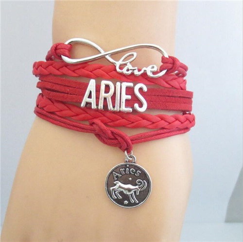 Pure Manual Infinity Love 12 Constellation Bracelets What Is Your Horoscope