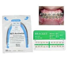 orthodonticappliance, Mini, nitinolarchwire, Elastic