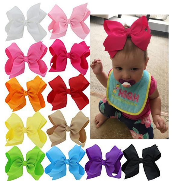 7d94013ca 20pcs/lot 20 Colors 6 Inch Hair Bows Pinwheel Boutique Bows ...