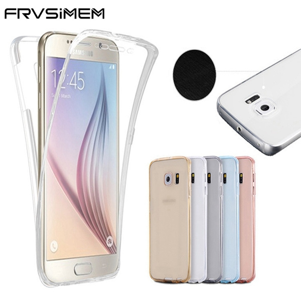 clear front and back coque iphone 6