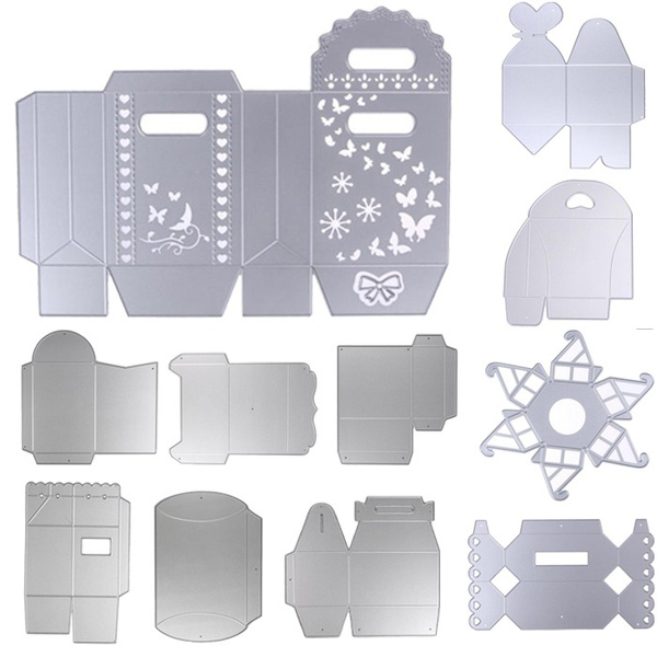 Picture of Lovely Candy Box Cutting Dies Metal Stencils