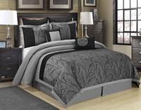 King, comforterburgundy, bedinabag, Bedding Sets