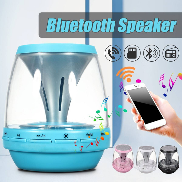 Picture of Built In Mic Mini Portable Led Stereo Bluetooth 3.0 Wireless Speaker Boombox Bass Subwoofer Car Handsfree Receive Call Tf Fm With Usb Cable For Smartphone Tablet Pc