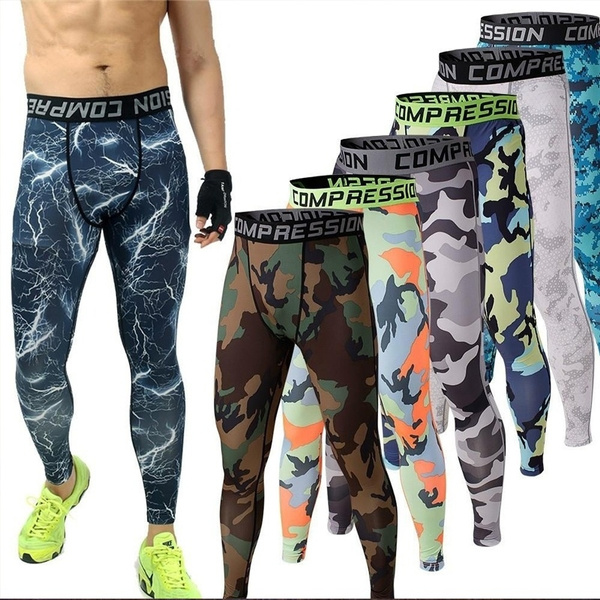 mens camouflage tights