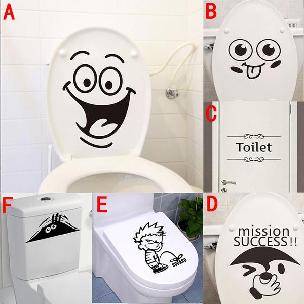 Funny, Bathroom, Bathroom Accessories, Wall Art