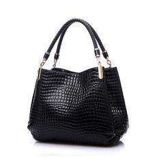 Shoulder Bags, Fashion, bolsa, alligator