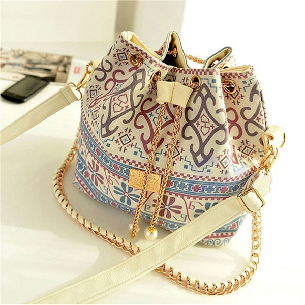 Picture of Europe Trend Bucket Women's Bags Handbag Shoulder Bags Big Fashion Beauty Populor Polyester