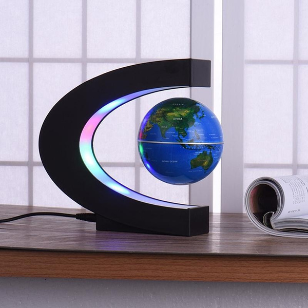 Geek pawacac shaped led world map decoration magnetic levitation geek pawacac shaped led world map decoration magnetic levitation floating globe world map euusukau plug gumiabroncs Gallery