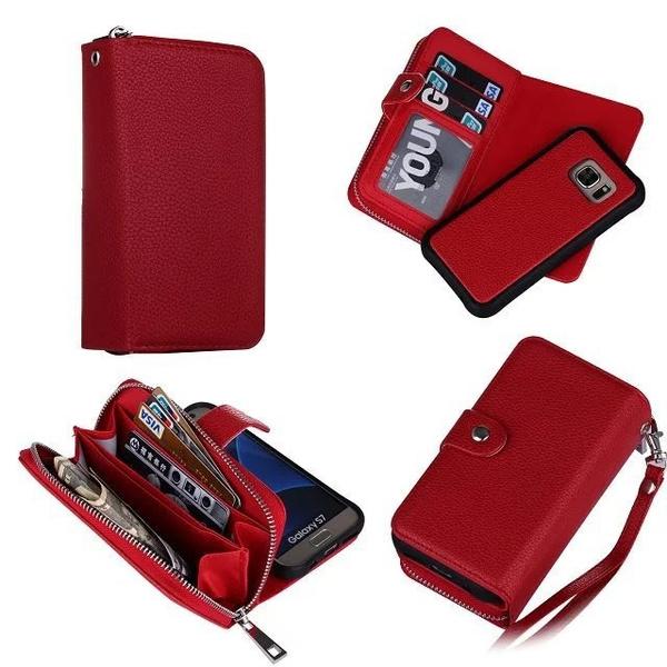 8073d386e435 Geek New Detachable Magic Leather Case Zipper Wallet Card