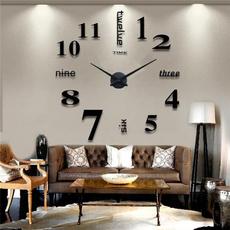 Wall Art, Home Decor, wand, Clock
