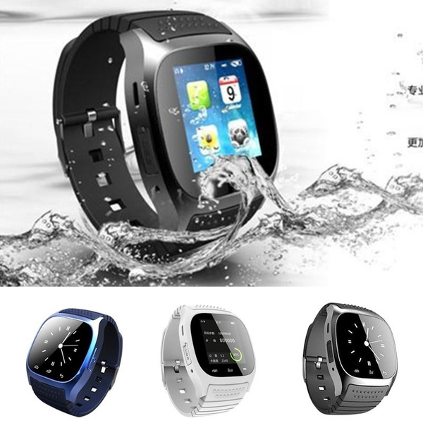 Picture of Smart Bluetooth M26 Watch With Led Display / Dial / Sms Reminding / Music Player Pedoeter Wristwatch For Mobile Phone
