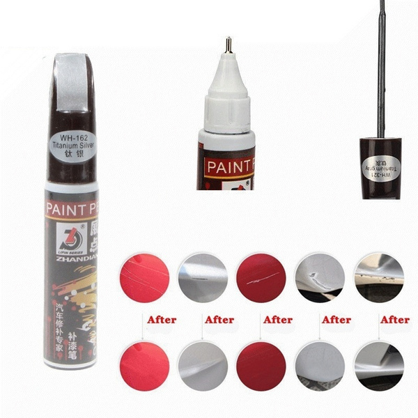5 Colors 12ml New Professional Car Paint Repair Pen Waterproof Fix It Pro Clear Car Scratch Remover Painting Pens