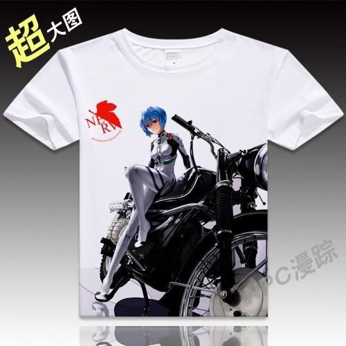 EVA Neon Genesis Evangelion T-shirt Souryu Asuka Langley T-shirt Japan Anime New