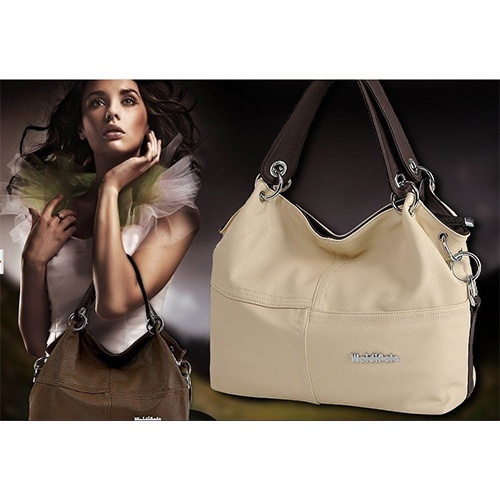 Wish | Hot Retro Vintage Women's PU Handbag Tote Trendy Shoulder ...