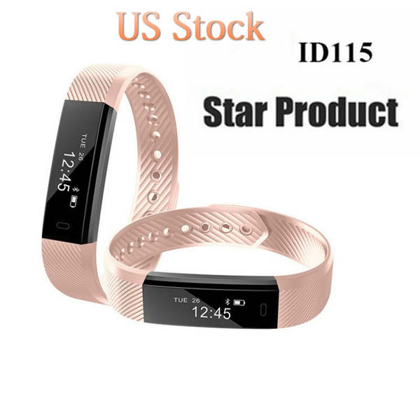 Picture of Id115 Smart Bracelet Fitness Tracker Step Counter Fitness Watch Band Alarm Clock Vibration Wristband Pk Id107 Fit Bit Miband2