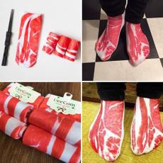 baconmeat, womensock, Meat, Gifts