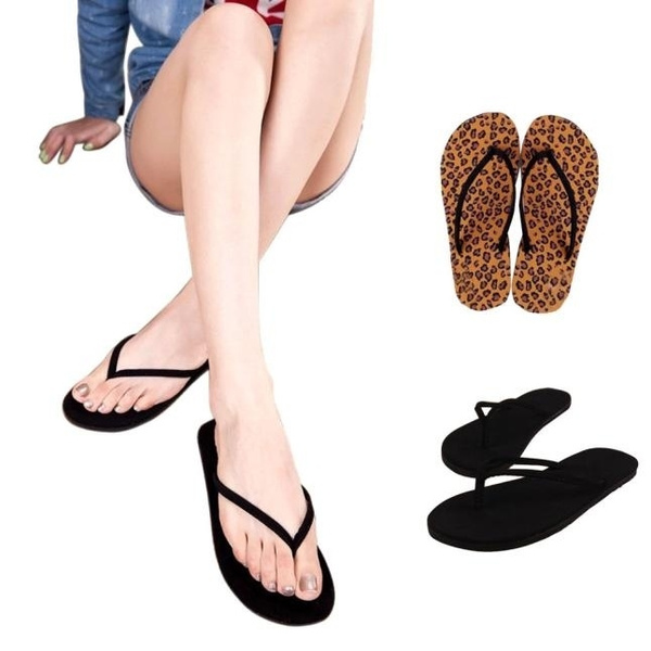 Picture of Women Summer Flip Flops Shoes Sandals Slipper Indoor Outdoor Flip-flops Casual Stylish