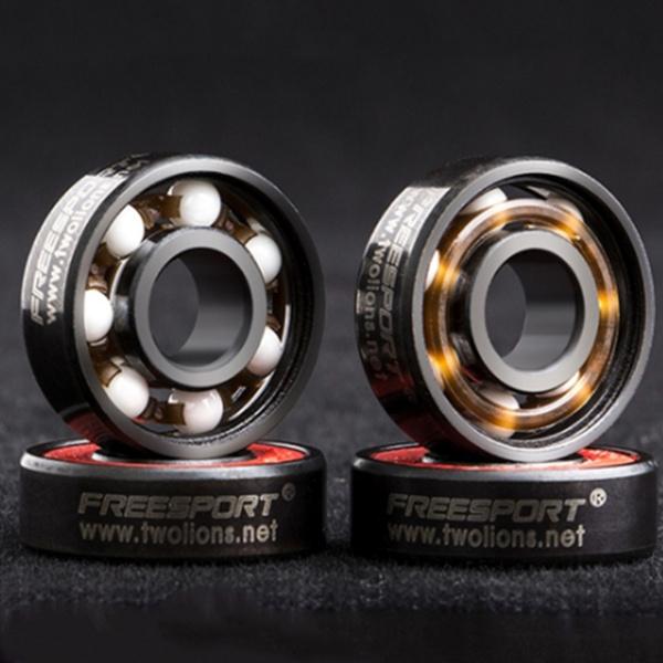 Picture of 608rs Roller Skates Ceramic Ball Inline Skate Bearings Drift Plate Va7 Color Black