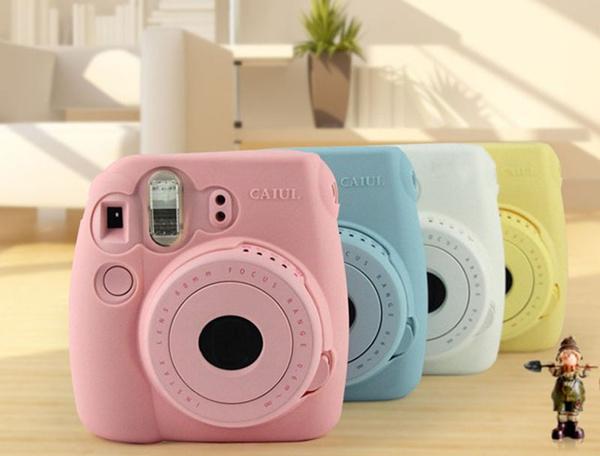 New Noctilucent Camera Soft Case Skin Cover For FUJIFILM Instax Mini8 Mini8s