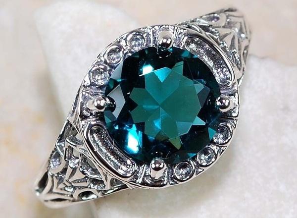 Sterling, Blues, art, Jewelry