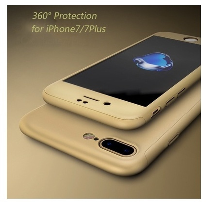 Picture of 360 Degrees Full Coverage Protection With Tempered Glass Case Iphone 7