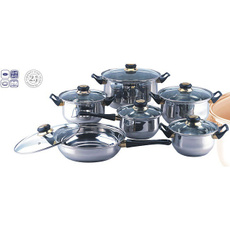 Steel, Stainless, Cookware, Stainless Steel