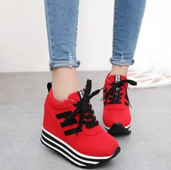 Picture of Women Casual Lace Up Sneaker Sport Canvas Shoe
