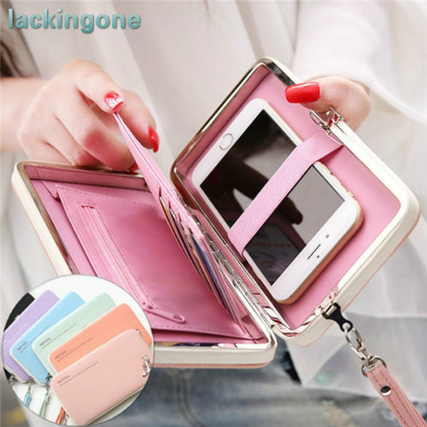 Picture of Lackingone 5.5 Functional Phone Wallet Case Coverxiaomi Samsung Sony Huwavei