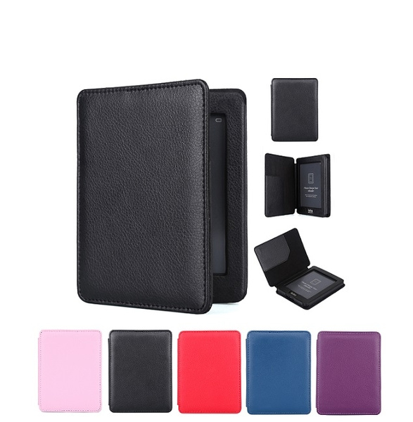 Protective leather cover case for Kobo mini 5