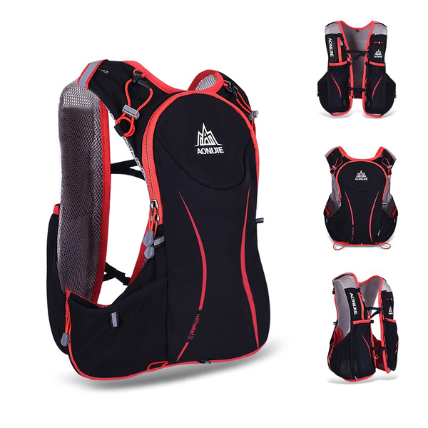 91b9ddc1cd AONIJIE 5L Outdoor Sport Running Vest Backpack Women/Men Hydration Vest  Pack for 1.5L Water Bag Cycling Hiking Bag | Wish